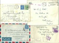 2 X WW2 COVER &   2 X  WW2   FRONTS   INCLUDING SHIPS MAIL      SEE SCANS