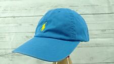 Vintage Polo Ralph Lauren Baby Blue & Yellow Adjustable Dad Hat