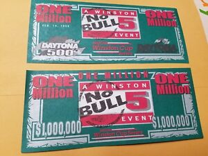 Feb 14, 1999 Daytona 500 No Bull 5 Victory Lane Million $$$$  Bill-Jeff Gordon