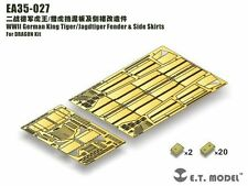 ET Model 1/35 #EA35027 King Tiger/Jagdtiger Fender & Side Skirts for Dragon