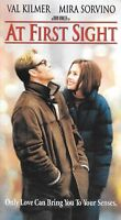 At First Sight (VHS) Val Kilmer Mira Sorvino WE COMBINE SHIPPING IN THE U.S.!
