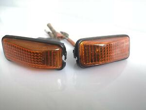 Honda Civic CRX Wagon Prelude Accord Fender Turn Signal Lights Stanley OEM 3