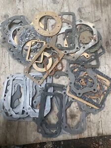 NOS oem Clinton gasket lot  found in Collapsed barn small engine $1 auctions