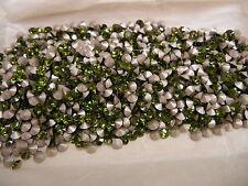 144 swarovski rhinestones,19ss olivine/foiled #1028