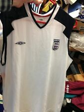 England Training Vest In small 34/6 inchAt £8 Bnwl Navy Or White Breathable