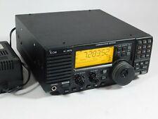 Icom IC-R75 Ham Radio Communications Receiver w/ UT-106 DSP + AD-55A AC Adapter