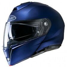 HJC Casque MODULABLE i90 UNI BLEU FLAT METALIC BLUE MOTO SCOOTER PINLOCK SOLAIRE