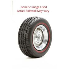 215/70R14 Radial T/A Bf Goodrich Tire With Red Line - Modified Sidewall 1 Tire