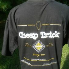 Vintage Cheap Trick Music For Hangovers Chicago Metro Size Medium T Shirt 1998