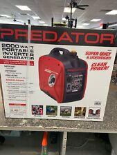 PREDATOR 2000 Watt Super Quiet Inverter Generator - FREE SHIPPING