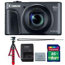 Canon Powershot SX730 HS Digital Camera (Black) and Accessory Kit