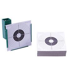 14cm Target Holder & 100 Targets Funnel Pellet Trap Catcher Airgun Air Gun Rifle