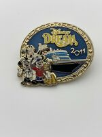 Disney Dream Pin Inaugural Voyages 2011 Mickey Mouse, Minnie, Pluto and Goofy