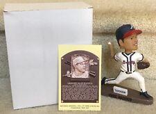 Greg Maddux 2014 HOF Bobblehead & Postcard Gwinnett / Atlanta Braves SGA LOT