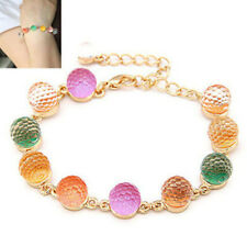 Jewelry Resin Balls Candy Color Trendy Fashion Retro Rainbow Color Beadzs
