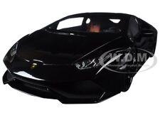 LAMBORGHINI HURACAN LP610-4 BLACK 1/18 DIECAST MODEL CAR BY KYOSHO C09511 BK