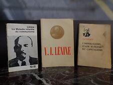 Lénine L'impérialisme La Maladie infantile du communisme ARTBOOK by PN