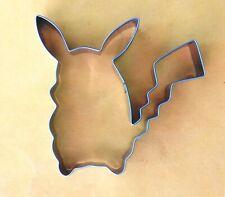 Pokemon Pikachu Cookie Cutter Logo Party Biscuit Fondant Metal Baking Mold
