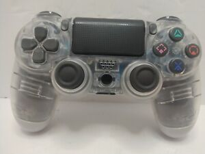 SONY CLEAR TRANSPARENT CUH-ZCT2U PS4 CONTROLLER