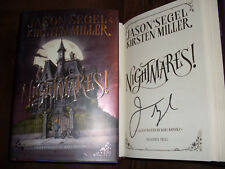 Jason Segel signed Nighmares! 1st print HC book signed in person NOT tipped in
