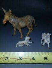 Fontanini Roman Inc Standing Donkey Italian Nativity Village Animal Figurine