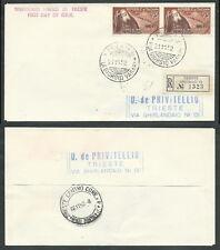 1952 TRIESTE A FDC MASSAIA TIMBRO DI ARRIVO - BF-2