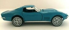 1968 Corvette Sting Ray 1:24 Scale DieCast Replica w/T-Tops by Franklin Mint