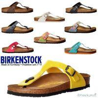 Birkenstock Classic Gizeh BirkoFlor Buckled Toe Post Thong Flip Flop Sandal