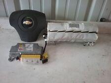 08 09 10 Chevy Malibu new style air bag set wheel Dash module OEM Gray