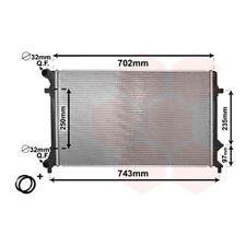 Motorkühler Wasserkühler Motorkühlung Kühler VAN WEZEL 58002205