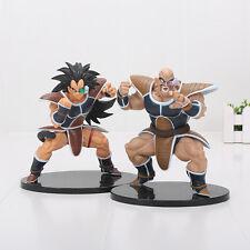 DRAGON BALL Z - Figuras de acción Nappa & Raditz Saiyan 18 cm