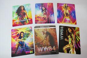 Wonder Woman 1984 Ltd Edition Steelbook Bluray 2D 3D + 4K UHD 5x MAGNETIC COVERS