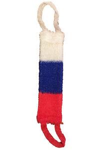 Tricolor Russland Badeschwamm Massageschwamm Wellnessschwamm 40 x 12 cm Мочалка