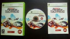 BURNOUT PARADISE THE ULTIMATE BOX : JEU Microsoft XBOX 360 (COMPLET envoi suivi)