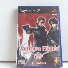 VAMPIRE NIGHT  video game  ps2 PLAYSTATION 2