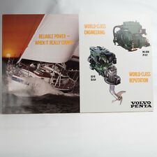 Vintage Volvo Penta Engine Counter Display Sign MD 2030 D2-55 Sailboat Picture