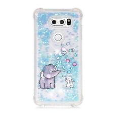 Bling Quicksand Liquid Bumper Soft Slim Glitter Phone Case for LG K4 K8 K10 2017