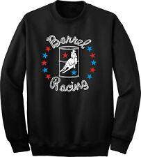 Barrel Racing Stars Horse and Rider Sweatshirt Multiple Colors & Sizes