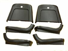 1969 1970 1971 1972 Nova Chevelle Cutlass 442 El Camino Seat Backs-Black J-4210