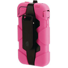 NEW GRIFFIN SURVIVOR IPHONE 4 4S TOUGH MILITARY TESTED CASE COVER PINK GB02476