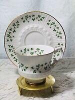Vintage Tea Cup & Saucer Danbury Mint ROYAL TARA Tara Hall Bone China. Germany.