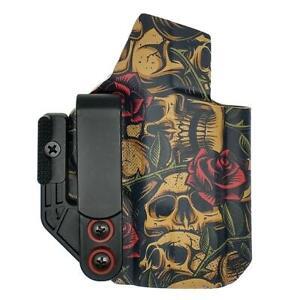 Glock 43 / 43X / MOS | Axis IWB Holster | Skulls & Roses