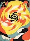 ANDRE MASSON - The Sun (62x45.5cm), CANVAS, POSTER FREE P&P