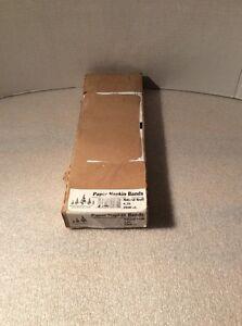 "Evergreen N9S400 Paper Napkin Standard Band, 4-1/4"" Length x 1-1/2"" Width, Brown"