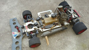 SG Racing Glattbahner Verbrenner Nitro Robbe Picco Graupner Chassis 1:8 Vintage