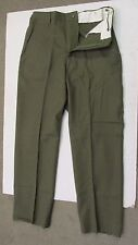 US M1951 WOOL FIELD PANTS TROUSERS COLD WEATHER NOS 1976 DATED MEDIUM REGULAR