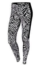 Nike Leg-A-See Palm Print Leggings Black/White Size Small