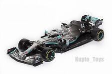 F1 Mercedes AMG Petronas W10 EQ, Lewis Hamilton #44, 2019 Season, Bburago 1:43