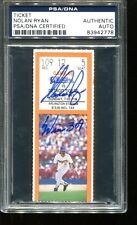 Nolan Ryan Signed Ticket 309th Win 10 K's 7/28/91 Autographed PSA/DNA 83942778