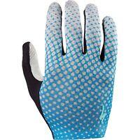 Specialized Women's BG Grail Glove - Neon Blue/Geo Crest - Small